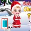بازی بچه داری هیزل کوچولو و کریسمس - دخترانه