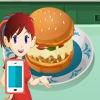بازی آنلاین آشپزی سارا همبرگر پیتزا - دخترانه