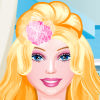 بازی باربی آرایش و مدل لباس استودیو مدل مو - دخترانه