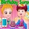 بازی جشن تولد آنلاین بچه داری هیزل کوچولو