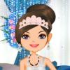 بازی مدل لباس عروسی کریستالی - دخترانه