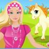 بازی باربی آرایش اسب تک شاخ باربی - دخترانه