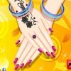 بازی آرایش ناخن های صورتی باربی پرنسس - دخترانه