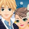بازی مدل لباس و آرایش عروسی کریسمس ایوا - دخترانه