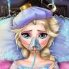 بازی آنلاین دکتری درمان آنفلوآنزای السا فروزن - پزشکی دخترانه