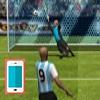 بازی فوتبال جام جهانی پنالتی هیجان انگیز سه بعدی