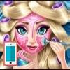 بازی آرایش و مدل لباس السا فروزن - دخترانه
