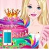 بازی آنلاین آشپزی باربی کیک الماسی - دخترانه