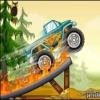 بازی آنلاین کامیون سواری هیولا در مقابل جنگل