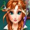 بازی آرایش مو و مدل لباس آنا فروزن - دخترانه