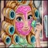 بازی آرایش مو و مدل لباس آنا فروزن 2- دخترانه
