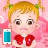 بازی دکتری بچه داری هیزل و شکم درد - پزشکی دخترانه