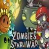 بازی گیاهان علیه زامبی ها plants vs zombies جنگ ستارگان