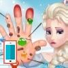بازی آنلاین پزشکی السا فروزن درمان دست دکتری فلش