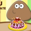 بازی آنلاین فلش بازی آنلاین پو آشپزی کیک شکلاتی پوپو فلش