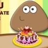 بازی آنلاین فلش پو آشپزی کیک شکلاتی پوپو