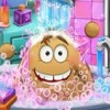 بازی مراقبت از پو در حمام کردن پوپو