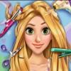 بازی آنلاین گیسو کمند آرایش واقعی دخترانه