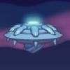 بازی آنلاین بشقاب پرنده فضایی