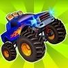 بازی آنلاین کامیونی جدید چرخ های هولناک هیولا 2