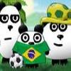 بازی 3 پاندا در برزیل فکری