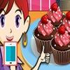 بازی آشپزی سارا کاپ کیک شکلاتی دخترانه آنلاین اندروید کامپیوتر آیفون