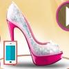 بازی طراحی کفش پاشنه بلند باربی اندروید آنلاین دخترانه