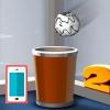 بازی پرتاب کاغذ مچاله برای اندروید بازی آنلاین مچاله شده در سطل