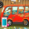 بازی آنلاین فلش بازی شستن اتوبوس آنلاین کارواش ماشین