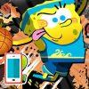 بازی آنلاین فلش بازی بسکتبال باب اسفنجی انلاین 2 ستارگان
