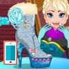 بازی طراحی کفش السا آنلاین چکمه