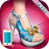 بازی آنلاین طراحی کفش پاشنه بلند باربی السا دخترانه