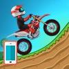 بازی آنلاین فلش بازی تپه نوردی با موتور Hill Climb Motor Bike Racing