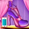 بازی طراحی کفش السا و انا آنلاین