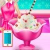 بازی بستنی توت فرنگی السا آشپزی آنلاین