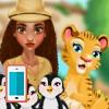 بازی دامپزشک حیوانات اندروید آنلاین باغ وحش