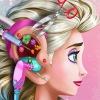 بازی دکتری جراحی گوش السا آنلاین دخترانه