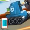 بازی استراتژیک تانک های جنگی آنلاین قرمز و آبی