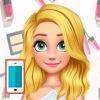 بازی ارایش صورت و لباس باربی آنلاین دخترانه