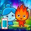 بازی آب و آتش در معبد جنگل آنلاین پسر اندروید دختر