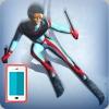 بازی اسکی در برف و یخ رکوردی اندروید آنلاین