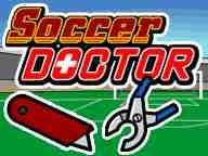 بازی دکتری فوتبال معالجه مصدوم - پزشکی دخترانه