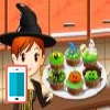 بازی آنلاین فلش بازی آنلاین پخت کیک هالووین - دخترانه آشپزی فلش