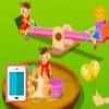 بازی آنلاین پارک بازی بچه ها - دخترانه فلش