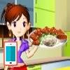 بازی آشپزی خوراک گوشت و سبزی - دخترانه
