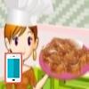 بازی آشپزی شیرینی رولت کارامل - دخترانه