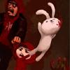 بازی خرگوش و زامبی - تیر اندازی zombie