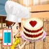 بازی آشپزی کیک مخملی قرمز - دخترانه
