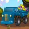 بازی آنلاین فلش بازی آنلاین کامیون سواری حمل صخره فلش