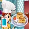 بازی شیرینی پزی کیک پف دار - دخترانه